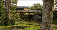 Keighley Rd. 13th (peterdouglas1) Tags: gbrf class66 66719 sheds skipton bridges