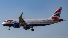 IMG_7083 (Al Henderson) Tags: a320 airbus airport aviation ba baw britishairways egll gttnb heathrow lhr london neo planes aircraft airliner speedbird