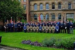 group shot (James O'Hanlon) Tags: parachute regiment regimental association parachuteregimentassociation operation market garden arnhem st nicks liverpool parish church liverpoolparishchurch stnicks operationmarketgarden 75thanniversary anniversary