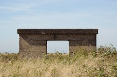 Pill box in the sun. (christensen.peyton) Tags: pillbox heritage abandoned urban exploration war military history