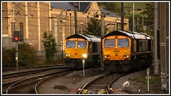 Two sheds better than one! Take 2! (peterdouglas1) Tags: class66 sheds 66719 66723 gbrf