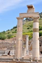 Archway through an archway - Ephesus, Turkey (stevelamb007) Tags: architecture turkey ancient nikon ephesus efes d90 stevelamb archeological