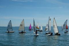Out on the Thames Estuary (ho_hokus) Tags: 2019 england essex essexcoast fujix20 fujifilmx20 leighregatta leighonsea oldleigh riverthames thamesestuary uk boat sailing