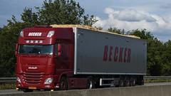 NL - Becker DAF XF 106 SSC (BonsaiTruck) Tags: becker daf lkw lastwagen lastzug truck trucks lorry lorries camion