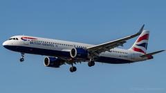 IMG_7085 (Al Henderson) Tags: a321 airbus airport aviation ba baw britishairways egll gneor heathrow lhr london neo planes aircraft airliner speedbird