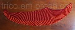 Xale Nymphalidea (tricô em prosa) Tags: xale renda shawl lace tricô knitting algodão cotton