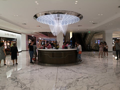 2019-09-FL-221805 (acme london) Tags: atrium beijing bookmatchedmarble bookmatchedstone china counter flooring informationdesk luxury mall marble retail skpmall sybarite