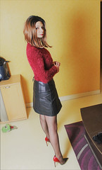669 (Lily Blinz) Tags: crossdressed crossdresser crossdress crossdressing crossgender tgirl transvestite travesti trans trav transgender transgenre tranny tv tg ts tranvestite stocking nylon heel lilyblinz lily blinz