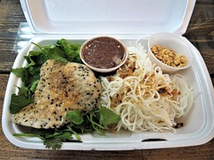 Vermicelli from Mister Red (knightbefore_99) Tags: takeout takeaway tasty food vancouver work lunch awesome delicious nice art cuisine misterred vermicelli noodles peanuts vietnamese vietnam