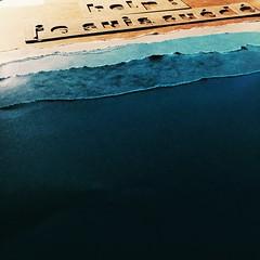 The paper beach #papercut #papercraft #beach (f_geraud) Tags: papercut papercraft beach