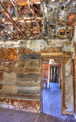 hallway of old miners cabin Animas Forks (maryannenelson) Tags: colorado silverton animasforks mining abandoned landscape bluesky