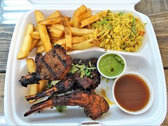 Lamb Lollipops (knightbefore_99) Tags: takeout takeaway tasty food vancouver work lunch awesome delicious nice art cuisine jambo grill africa kenya lamb lollipop