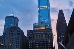 DSC05110 (jayayess1190) Tags: philadelphia pennsylvania city cityscape centercity centralbusinessdistrict urban downtown skyscraper skyline dusk neighborhood
