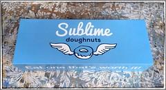 Sublime doughnuts Box | Atlanta, Georgia (steveartist) Tags: packaging paperboxes foodpackaging sublimedoughnuts iphonese snapseed photostevefrenkel logos slogans illustration donuts doughnuts atlanta