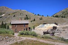 Animas Forks (maryannenelson) Tags: colorado silverton animasforks mining abandoned landscape bluesky