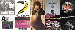 Top 10 Favorite Albums of the 1960s (zephzoo) Tags: bob dylan blonde the millennium begin velvet underground nico frank zappa hot rats isaac hayes buttered soul charles mingus black saint sinner lady rebecca sunnybrook farmers birth united states america john coltrane a love supreme joe harriott quintet abstract