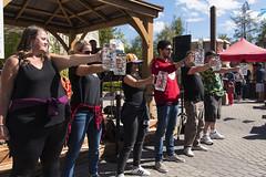 EAE_7524r (crobart) Tags: beer stein holding contest oktoberfest canadas wonderland cedar fair amusement theme park