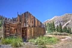 Animas Forks miner home (maryannenelson) Tags: colorado silverton animasforks mining abandoned landscape bluesky