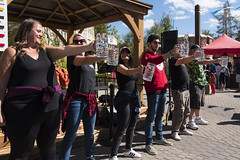 EAE_7522r (crobart) Tags: beer stein holding contest oktoberfest canadas wonderland cedar fair amusement theme park