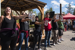 EAE_7515r (crobart) Tags: beer stein holding contest oktoberfest canadas wonderland cedar fair amusement theme park