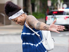 (tomschroder) Tags: street streetphotography happiness women tattoo outside people olympus