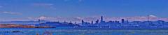 San Francisco Bay Panorama from Albany (greensteves) Tags: skyline sanfrancisco bay sanfranciscobay olympus omd omdem10markii