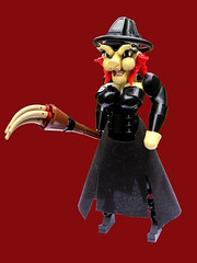 Rowena Grimsbane (Logey Bear) Tags: lego constraction halloween witch bionicle hero factory