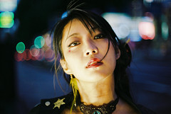 (maxwellkimi) Tags: film analog color street japan bokeh friends girl woman happyplanet asiafavorites