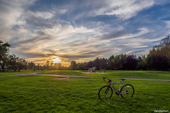 Boise Barber Park Summer 2019 (fandarwin) Tags: boise barber park summer 2019 sunset bicycle darwin fan fandarwin olympus omd em10