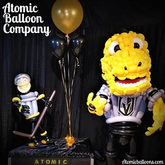 Go VGK Go!!! @vegasgoldenknights @chancenhl #vgk #lasvegasballoonartist   Atomic Balloon Company brings World Champion Balloon Artistry and Balloon Decor to every party, event, and delivery throughout Las Vegas and beyond! (702)969-5689 (480)385-9648 www. (Atomicballooncompany) Tags: lasvegaslocals lasvegasballoonartist vegaslocal vegas balloons balloonartist vegasgoldenknights vgk vegaslocalbusiness vegaslove champion