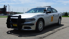 Iowa State Patrol (Emergency_Spotter) Tags: iowa state patrol dodge charger des moines hubcaps setina single spotlight isp trooper chargers lightbar wraparound rural corn v8