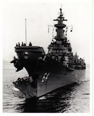 WISCONSIN AFTER RAMMING USS EATON (DREADNOUGHT2003) Tags: warships warship warproduction warinthepacific war submarines submarine battleships battleship