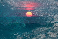 Fire and Ice Dreamscape Series (Ann Kunz) Tags: sunset jockysridge outerbanks northcarolina surreal water ice abstract sun ngysaex