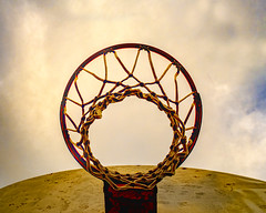 basketball dreams (-liyen-) Tags: activeassignmentweekly basketball hoop fujixt2 lookingup minimalism