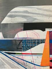 Jim Harris: Untitled. (Jim Harris: Artist.) Tags: art arte lartabstrait painting technology architecture technik koblenz jim harris schoolofthemuseumoffinearts schilderij konst kunst kunstzeitgenössische weltaum space cosmos