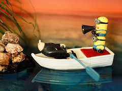 The Toys (Céline@LaRochelle) Tags: crazy tuesday toys humor composition yellow water beach toysincloseup intimately