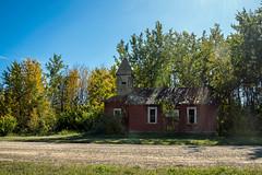 Sunshine Gospel Mission (L E Dye) Tags: sunshinegospelmission 2019 alberta centralalberta church d750 ledye nikon abandoned fall prairie rural