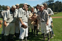 2019 BAVBB Golden Gate Cup Final - Golden Gate Park - 091519 - 44 - SF Pacifics vs SF Barbary Coasters (Stan-the-Rocker) Tags: stantherocker sony ilce sanfrancisco bavbb bayarea vintagebaseball goldengatepark bigrec sel18135