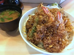 Tendon Lunch set from Iseya @ Senzoku (Fuyuhiko) Tags: tendon lunch set from iseya senzoku 天丼 いせや 千束 東京 tokyo 天婦羅 千束いせや