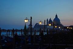 blue hour - Basilica di Santa Maria della Salute - Venice - April 2019 (Dis da fi we) Tags: santa venice saint canal maria basilica mary salute grand health della giudecca dogana church san catholic roman marco piazza