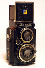 Voigtländer Superb (bac1967) Tags: voigtländer superb voigtländersuperb tlr camera cameraglamor twinlensreflex 120film 120 mediumformat