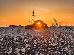 Sunset 2 (ntonio71) Tags: stone hole iron sunset