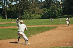 2019 BAVBB Golden Gate Cup Final - Golden Gate Park - 091519 - 40 - SF Pacifics vs SF Barbary Coasters (Stan-the-Rocker) Tags: stantherocker sony ilce sanfrancisco bavbb bayarea vintagebaseball goldengatepark bigrec sel18135