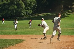 2019 BAVBB Golden Gate Cup Final - Golden Gate Park - 091519 - 39 - SF Pacifics vs SF Barbary Coasters (Stan-the-Rocker) Tags: stantherocker sony ilce sanfrancisco bavbb bayarea vintagebaseball goldengatepark bigrec sel18135