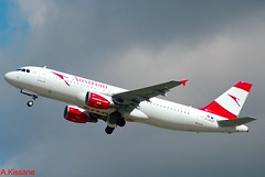 AUSTRIAN AIRLINES A320 D-ABZF (Adrian.Kissane) Tags: aviation germany departing flight flying sky outdoors airliner airline jet plane aircraft airbus aeroplane dabzf 3482 1352017 a320 dusseldorf austrian