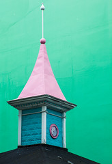 Bonbon Tower (TablinumCarlson) Tags: europa europe island iceland house leica m m240 summicron cron north atlantic kirche church akureyri norðurland eystra eyjafjörður architectur architektur 90mm