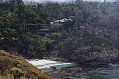 The beach house | ACT8722 (TariqhCN) Tags: carmelbythesea carmel pacific ocean beach cypress trees nature fog succulent flowers plants nikon d810 outdorrs house
