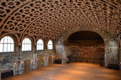 Great Hall from the gallery (Matt From London) Tags: batterseaartscentre bac london greathall