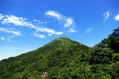 L1350930 Keelung Mountain (Rise Liao) Tags: 山巒 天空 藍天白雲