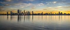 Perth City Morning light
